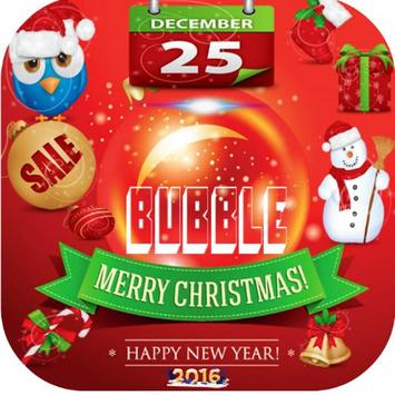 Bubble Christmas poster
