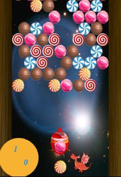 Dragon Eat Candy Bubble Shoot screenshot 2
