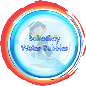Boboiboy water bubbles icon