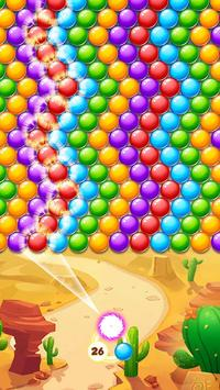 Bubble Shooter Desert poster