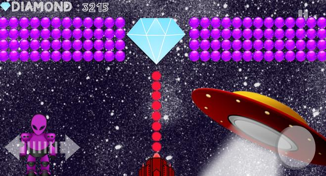 Bubble Shooter Aliens Area screenshot 3