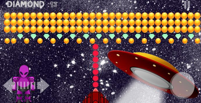 Bubble Shooter Aliens Area screenshot 4