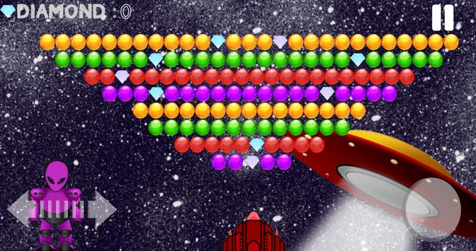 Bubble Shooter Aliens Area screenshot 5