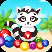 Bubble Shooter Raccoon 2018 icon