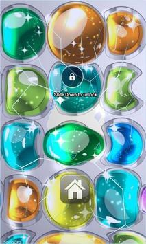 Bubbles Lock Screen poster
