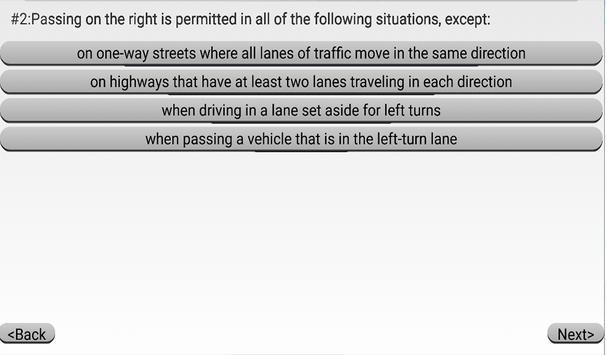 Nebraska DMV Practice Exams apk screenshot