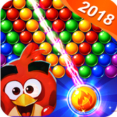 fre game ball Shoot pop ace angry cat & bird 3D icon