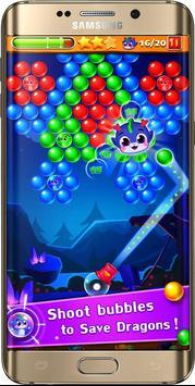 fre game ball Shoot pop ace angry cat & bird 3D screenshot 5