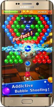 fre game ball Shoot pop ace angry cat & bird 3D screenshot 2
