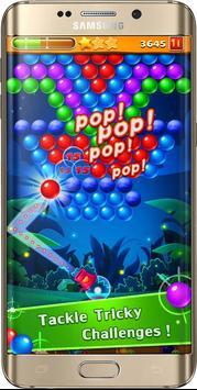 fre game ball Shoot pop ace angry cat & bird 3D screenshot 3