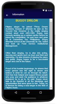 Bugoy Drilon - Song and Lyrics apk screenshot