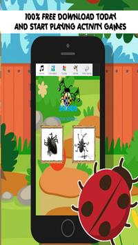 bug games free for kids poster