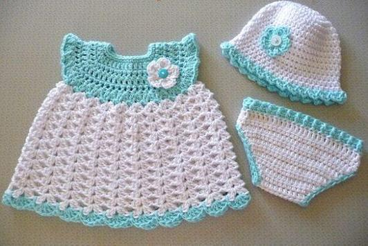Crochet Baby Dress screenshot 4