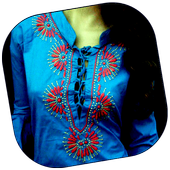 Embroidery Patterns Clothes icon