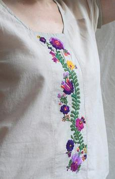 Embroidery Patterns Clothes screenshot 3