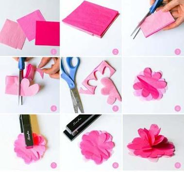 How to Make Paper Flower screenshot 1