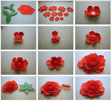 How to Make Paper Flower screenshot 2