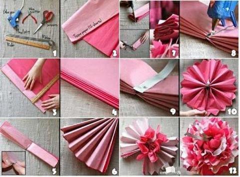 How to Make Paper Flower screenshot 4