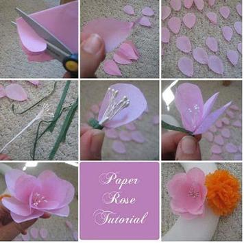 How to Make Paper Flower apk screenshot
