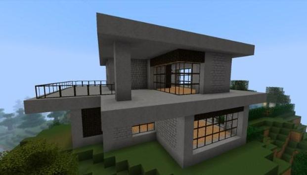 Casa moderna para minecraft para android apk baixar for Casas modernas minecraft 0 8 1