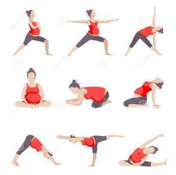 Pregnancy Yoga Exercises screenshot 3