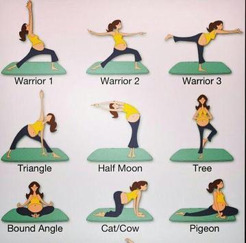 Pregnancy Yoga Exercises screenshot 5