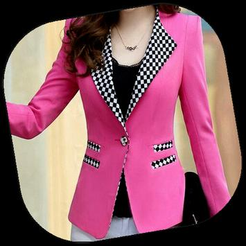 Women Blazer Design poster