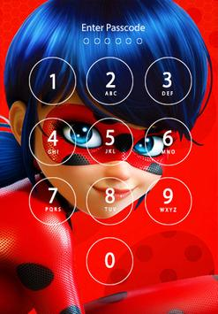 Free Lady Bug & Cat Noir Lock Screen screenshot 1