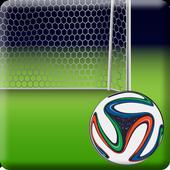 Football Zipper Screen Lock icon