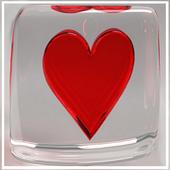 Heart Flip Screen Lock icon