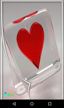 Heart Flip Screen Lock poster