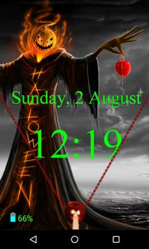 Halloween Zipper Lock Screen screenshot 4