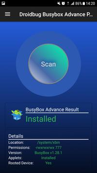 Droidbug BusyBox Advance FREE screenshot 3