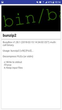 Droidbug BusyBox Advance FREE screenshot 7