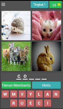 fun tricky brain game : pictoword trivia - malay poster