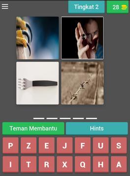 fun tricky brain game : pictoword trivia - malay screenshot 15