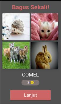 fun tricky brain game : pictoword trivia - malay screenshot 1