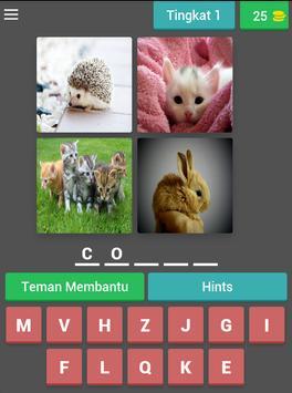 fun tricky brain game : pictoword trivia - malay screenshot 20