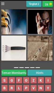 fun tricky brain game : pictoword trivia - malay screenshot 2
