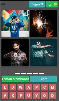 fun tricky brain game : pictoword trivia - malay screenshot 3