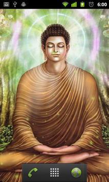 Buddha Live Wallpaper Poster Apk Screenshot