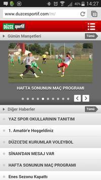 Düzce Sportif screenshot 4