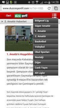 Düzce Sportif screenshot 5