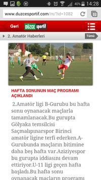 Düzce Sportif screenshot 6
