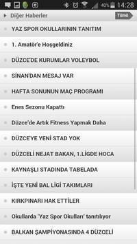 Düzce Sportif screenshot 3