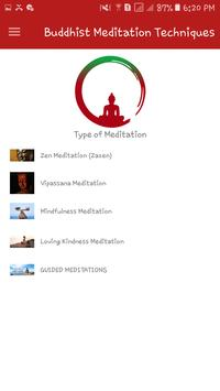 Buddhist Meditation Techniques screenshot 3
