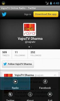 VajraTV Online Radio screenshot 3