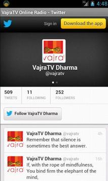 VajraTV Online Radio screenshot 1