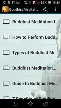 Buddhist Meditation Trainer screenshot 1