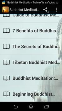 Buddhist Meditation Trainer screenshot 2